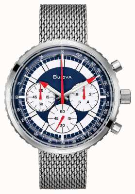 Bulova Ex-display mens chronograph c edición especial reloj 96K101-EX-DISPLAY