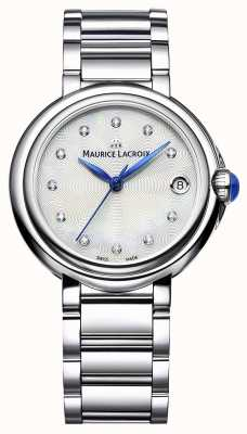 Maurice Lacroix Reloj de pulsera de diamantes fiaba 32mm para mujer FA1004-SS002-170-1