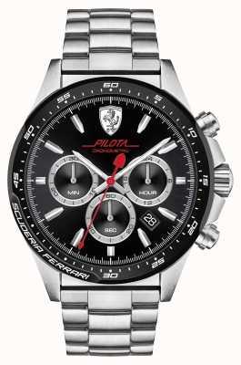 Scuderia Ferrari Pilota acero inoxidable 0830393