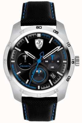 Scuderia Ferrari Dial Primato negro y azul 0830445