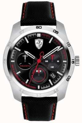 Scuderia Ferrari Dial Primato negro y rojo 0830444