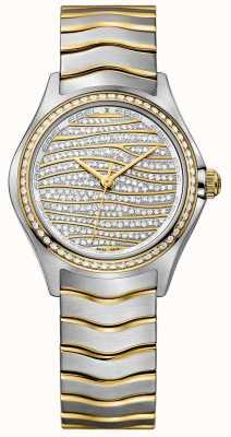 EBEL Reloj de oro para mujer 58-diamantes 18k 1216285