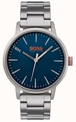 Hugo Boss Orange Mens Copenhagen reloj esfera azul 1550058