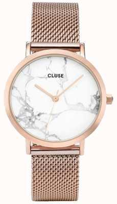 CLUSE Womans la roche rosa malla de oro malla de mármol CL40007