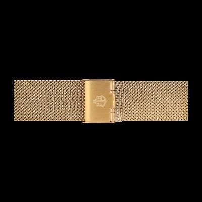 Paul Hewitt Correa de malla de acero inoxidable dorada talla s PH-M1-G-4S