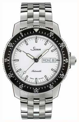 Sinn 104 st sa iw reloj piloto clásico correa fina de acero inoxidable 104.012 BRACELET