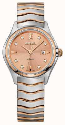 EBEL Reloj de oro y rosa de dos tonos para mujer 1216328
