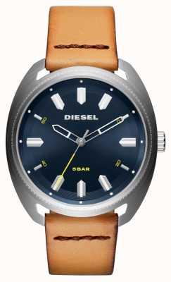 Diesel Reloj de cuero para hombre tan rápido DZ1834