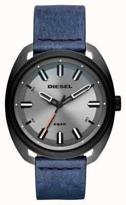 Diesel Correa de piel de mezclilla para hombre fastbak DZ1838