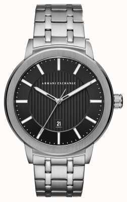 Armani Exchange Reloj de acero inoxidable para hombre AX1455