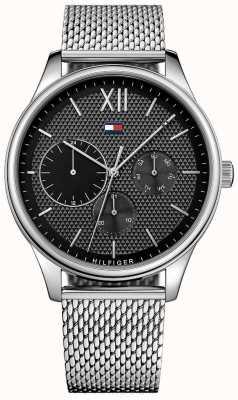 Tommy Hilfiger Mens damon reloj de malla de acero inoxidable 1791415