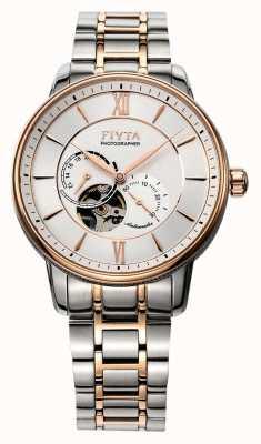 FIYTA Reloj para hombre de dos tonos para hombre GA860003.MWM