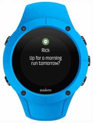 Suunto Unisex spartan entrenador muñeca reloj deportivo azul hr SS023002000