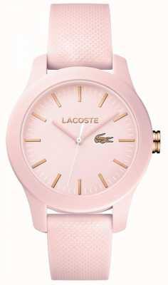 Lacoste Womens 12.12 reloj rosa 2001003