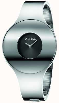 Calvin Klein Medias de acero sin costuras de plata de Womans K8C2M111