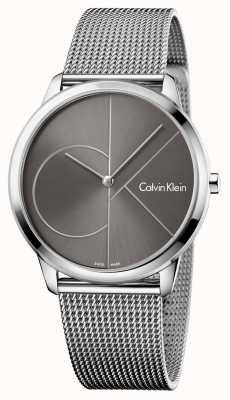 Calvin Klein Correa de malla minimalista unisex K3M21123
