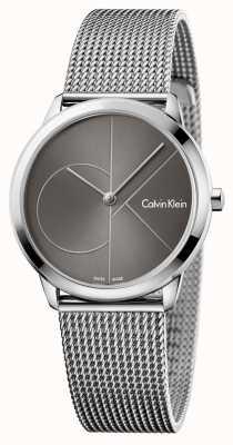 Calvin Klein Reloj minimalista mujer gris K3M22123