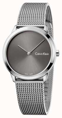 Calvin Klein Reloj minimalista mujer gris K3M221Y3