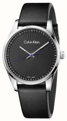 Calvin Klein Reloj negro para hombre K8S211C1
