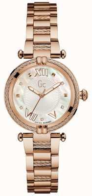 Gc Womans cablechic precioso analógico oro rosa Y18114L1
