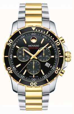 Movado Reloj cronógrafo para hombre serie 800 | correa de acero inoxidable | 2600146