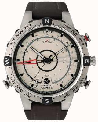 Timex Brújula de temperatura de marea inteligente de cuarzo T2N721D7PF