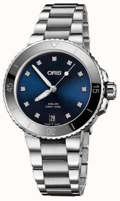 Oris Reloj de acero para mujer 01 733 7731 4195-07 8 18 05P