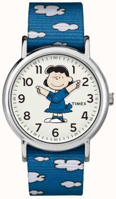 Timex Reloj correa azul lucy TW2R413006B