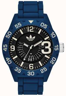 adidas Originals Reloj para hombre Newburgh azul ADH3141