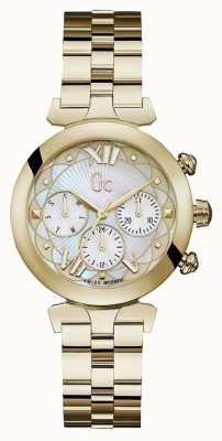 Gc Reloj ladybelle sport 2 dorado para mujer Y28003L1