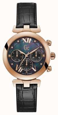 Gc Reloj para mujer ladybelle sport 2 rosa dorado Y28004L2