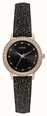 Guess Reloj chelsea redondo de oro rosa para mujer W0648L22