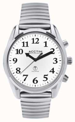 Acctim Reloj expansible que habla controlado por radio Robin 60547