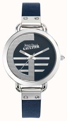 Jean Paul Gaultier Mujeres index g correa azul correa de cuero azul JP8504324