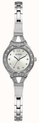 Guess Reloj de mujer plateado madeline plateado W1032L1