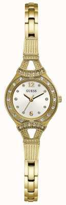 Guess Reloj de joyería dorado para mujer en tono dorado W1032L2