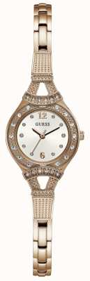 Guess Reloj de mujer en tono dorado rosa dorado W1032L3