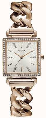 Guess Reloj de tocador de mujer rosa dorado W1030L4