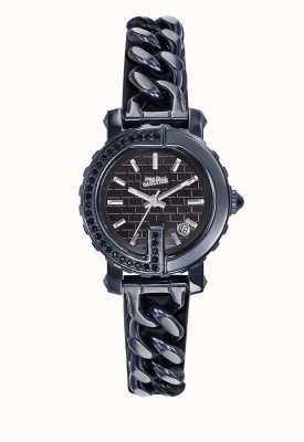 Jean Paul Gaultier Punto para mujer g - mini reloj azul pvd JP8503601