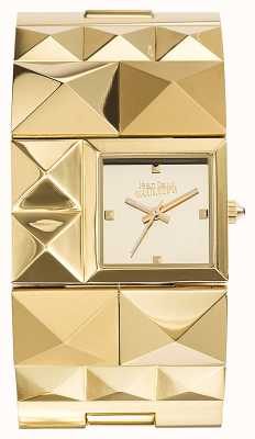Jean Paul Gaultier Mujer sobre punk gold pvd bracelet gold dial JP8504501