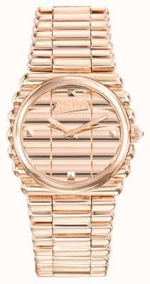 Jean Paul Gaultier Bordón para mujer cord rose gold pvd bracelet rose gold dial JP8504106