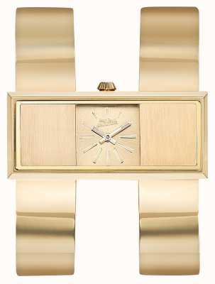 Jean Paul Gaultier Para mujer doble jeu gold pvd bracelet gold dial JP8505006