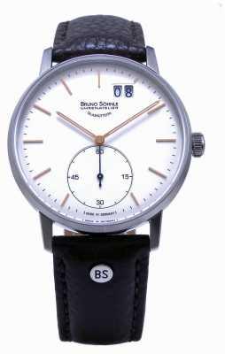 Bruno Sohnle Reloj de cuero marrón Stuttgart 42 mm II 17-13179-245