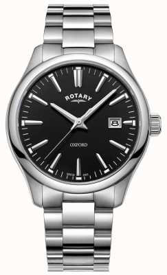 Rotary Pulsera de acero inoxidable reloj oxford para hombre GB05092/04