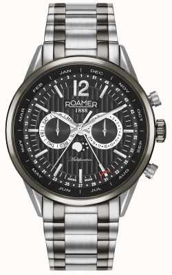 Roamer Reloj multifuncional para hombres de negocios superiores 508822405450
