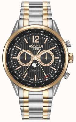 Roamer Reloj multifuncional para hombres de negocios superiores 508822495450