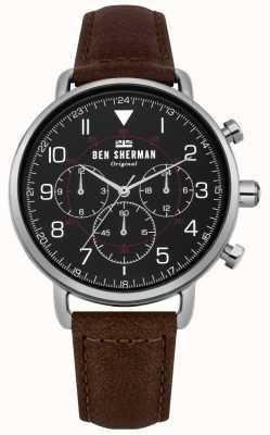 Ben Sherman Reloj cronógrafo militar portobello para hombre WB068BBR