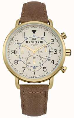 Ben Sherman Reloj cronógrafo militar portobello para hombre WB068WT