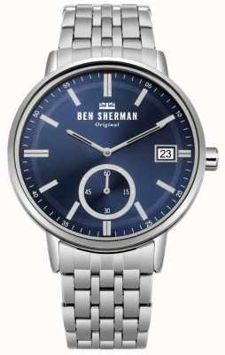 Ben Sherman Reloj profesional para hombre portobello WB071USM