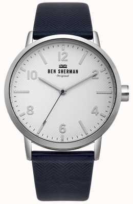 Ben Sherman Mens biig portobello reloj de espina de pescado WB070UB